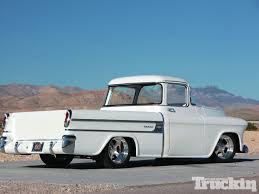 1957 Chevrolet Cameo - Americana - Truckin' Magazine 1957 Chevrolet Cameo Carrier 3124 Halfton Pickup Chevrolet Cameo Streetside Classics The Nations Trusted 1955 Pickup Truck Stock Photo 20937775 Alamy Rare And Original Carrier Pickup Sells For 1400 At Lambrecht Che 1956 3100 Volo Auto Museum 12 Ton Chevy Cameo Gmc Trucks Antique Automobile Club Of Sale 2013036 Hemmings Motor News On The Road Classic Rollections 1958 Start Run External Youtube Chevy Forgotten Truckin Magazine