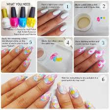 Tutorial Watercolor Nails