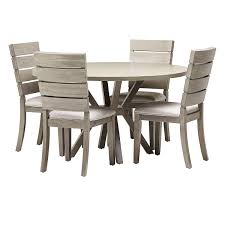 Sienna Gray Round Table & 4 Slat Chairs | Dining Room - Dining Sets ... Venice Table With 4 Chairs By Fniture Hom Tommy Bahama Kingstown 5pc Sienna Bistro Ding Set Sale Ends 3piece Occasional Bernards Fniturepick Lexington Home Brands Mercury Row End Reviews Wayfair Grand Masterpiece Royal Extendable Pedestal Room Penlands Ambrosia Terrasienna Round 48 Inch Gathering With Terra Flared Specialt Affordable Tables For Office Industry Outdoor Living Spaces Counter Colors Generations Furnishings