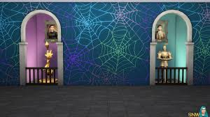 Sims Freeplay Halloween 2016 by Halloween 2016 Mural Set Gradient Base Wall Snw Simsnetwork Com