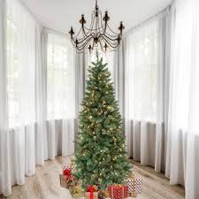 7 Green Douglas Fir Artificial Christmas Tree With 300 Clear Lights