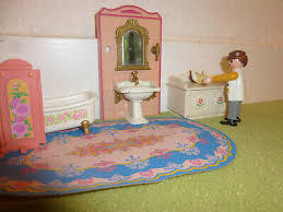 playmobil nostalgie rosa puppenhaus 1900 5318 bad puppenhaus