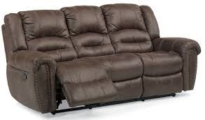 flexsteel downtown power reclining sofa 171062p34970