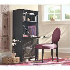 Ikea Hemnes Desk Hutch by Hemnes Desk Black Brown Ikea Within Black Secretary Desk