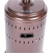 Fire Sense Deluxe Patio Heater Stainless Steel by Fire Sense Commercial Series 46 000 Btu Propane Gas Patio Heater