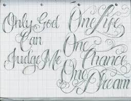 Tattoo Lettering 16 By 12KathyLees12