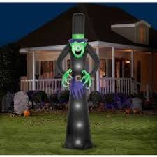 12 airblown inflatables giant ghost stack scene halloween