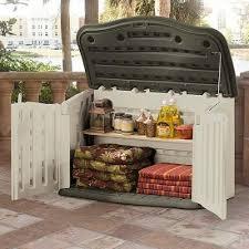 storage sheds rubbermaid horizontal box large patio outdoor garden