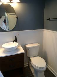 Glass Tile Over Redguard by Bathrooms