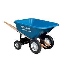 Rubber Wheelbarrows Wheelbarrows & Yard Carts The Home Depot
