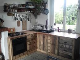 meuble cuisine palette meuble de cuisine en palette 15 id es g niales de recyclage de