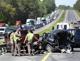 I-75 NB Reopened In Gainesville After Fatal Crash - News ... Sthbound I75 At I280 Now Open After Semi Truck Accident Serious Wreck On South I285 Youtube Semitruck Closes For Hours Live Semitruck Crash In Manatee County Florida July 20 One Dead Semitrailer Falls Off Crushes Vehicle Below Closed 212 Ogemaw Herald Ocala Post Daniel Loople Dies After Mangled Metal Mess On Semi Rolls Over Northbound Arenac Ipdent Removed Partially Haing Overpass Minivan Dragged 16 Miles Arending Trailer Amid Heavy Death The Highway Driver Saved By Witnses Fiery Crash Abc 36 News