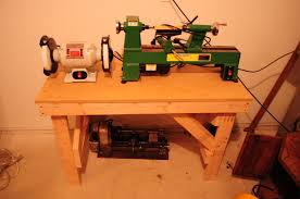new work bench in the shop tool animal
