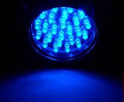 69 led indoor outdoor par 38 475 diameter flood lights blue led