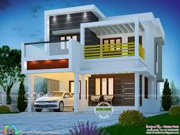 100 Www.modern House Designs 1600 Square Feet 3 Bedroom Box Type Modern Home Kerala