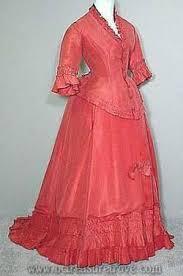 C1870 Salmon Coral Dress