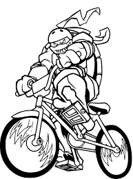 Coloriage Tortue Ninja 98 Coloriage Tortue Ninja Go
