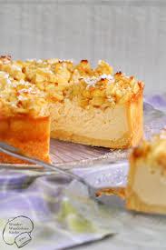 kleine kuchen apfel käsekuchen