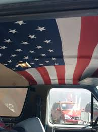 I Made A Custom Headliner For My Truck Today To Show My Patriotism ... 905x60 23x150cm Ceiling Roof Ling Foam Backing Upholstery New Headliner Ford Truck Enthusiasts Forums Redneck Vin Of Truck With Light Grey Pewter Sunvisor Plastic Would Anybody Happen To Have A Headliner For Mk1 Rabbit 09 Badly Sagging Honda Ridgeline Owners Club Repair Headlinerrepair Rewrapped The American Flag Remove Trim Fixing My Mistake Rangerforums The Ultimate 1208lrmp13o1963cvrolettruckcustomheadliner Lowrider