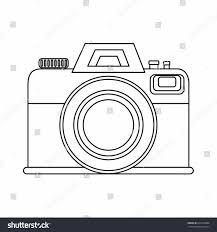 Outline Vector Illustration Your Stock Png Clipart Library Free Images Clip Vintage Camera