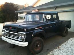1960 Ford Crew Cab Trucks For Sale, | Best Truck Resource 1960 Ford Crew Cab Trucks For Sale Best Truck Resource Used 2012 F150 Xlrwdregular Cab For In Missauga New 2018 Xl 4wd Reg 65 Box At Landers 1956 C500 Quad Maintenancerestoration Of Oldvintage Rocky Mountain Relics 44 2005 White For Sale Pickup Truck Wikipedia 35 Ford Cabs Iy4y Gaduopisyinfo Ford Ext 4x4 Sale Great Deals On 2016 North Brunswick Nj