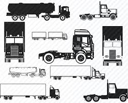 Truck Bundle SVG Files For Cricut Vector Images Silhouette | Etsy Big Blue 18 Wheeler Semi Truck Driving Down The Road From Right To Retro Clip Art Illustration Stock Vector Free At Getdrawingscom For Personal Use Silhouette Artwork Royalty 18333778 28 Collection Of Trailer Clipart High Quality Free Cliparts Clipart Long Truck Pencil And In Color Black And White American Haulage With Blue Cab Image Green Semi 26 1300 X 967 Dumielauxepicesnet Flatbed Eps Pie Cliparts