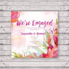 Watercolour Engagement Invitation - Print At Home File Or Printed ... Woodgrain Embossed Print At Home Invitation Kit Gartner Studios Free Spa Party Invitations Printables Girls Invitetown Bday Birthday Invites Exciting Minecraft Templates Baby Shower Microsoft Word Watercolour Engagement File Or Printed Floral Wedding Suite Files Cards Prting Screen Foil Designs How To At Together Interesting Printable Sale 25 Off Brides Magazine Home Diy Invitations Design And Seven Design Lace By Designedwithamore On Rustic
