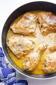 Smothered Chicken A Soul Food Southern Recipe That Is Easy To Make And Will Please Crowd Click For The Full