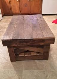 diy vintage inspired pallet coffee table 99 pallets