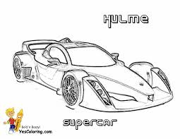 Print Picture Of Hulme Supercar 3 4 Top View At YesColoring