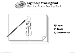 light up tracing pad free coloring pages crayola