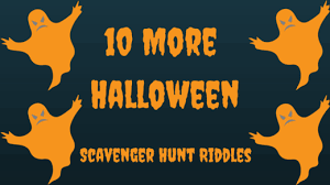 Scary Halloween Riddles And Answers by More Halloween Scavenger Hunt Riddles
