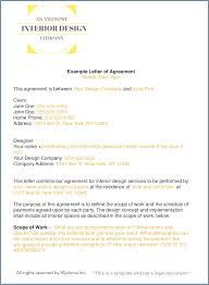 Freelance Design Contract Template Elegant How To Write An Interior Letter Of Agreement Or Graphic