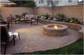 Kitchen : Backyard Paver Designs In Brilliant Brick Paver Patios ... Paver Patio Area With Fire Pit And Sitting Wall Nanopave 2in1 Designs Elegant Look To Your Backyard Carehomedecor Awesome Backyard Patio Designs Pictures Interior Design For Brick Ideas Rubber Pavers Home Depot X Installing A Waste Solutions 123 Diy Paver Outdoor Building 10 Patios That Add Dimension Flair The Yard Garden The Concept Of Ajb Landscaping Fence With Fire Pit Amazing Best Of