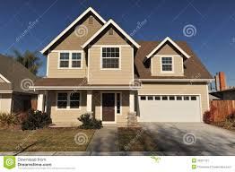 100 Picture Of Two Story House Great With Stories And Trees On Side Stock Image