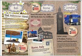 Tourist Brochure Examples 60 Beautiful Tri Fold Designs And Premium Template