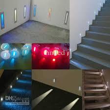 top new indoor stair lighting wall recessed home remodel xlian me