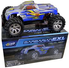 100 Brushless Rc Truck Barbarian EXL 18 Scale RC Monster