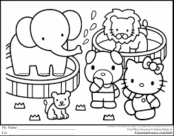 Spectacular Hello Kitty Printable Coloring Pages With Candy Cane Page And Legend