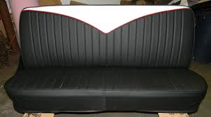 67-72 Chevy Truck Seat Covers / Velocity / Rick's Custom Upholstery