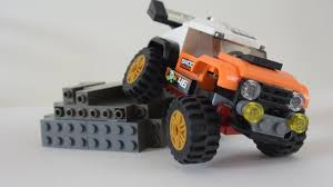 How To Make A Lego City STUNT Truck Modified With SUSPENSION 60146 ...