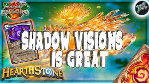 priest deck hearthstone hearthstone shadow visions is so lyra priest