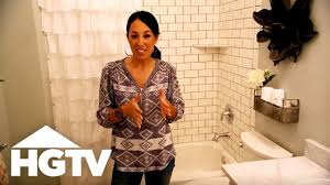 Fixer Upper: Visually Enlarge A Small Bathroom - YouTube 10 Yellow Bathroom Ideas Hgtv S Decorating Design Blog Zen Kitchen Vintage Decor Pictures Tips From Hgtv Small New Small Bathroom Makeovers Large And Beautiful Photos Photo To Modern Master Retreat Married Couple Sloped Ceiling Designs Marvellous Farmhouse Schemes Africa Home Lake Shower House Lighting Bathrooms As Seen On Hgtvs Love It Or List Mia Doors With