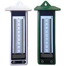 thermometre maxima minima exterieur lot de 2 thermomètre mini maxi affichage digital