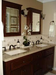 Bathroom Furniture Cool Gray Rectangle Modern Wood 23 Vanity Varnished Ideas New