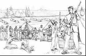 Extraordinary Civil War Coloring Pages Project Period With