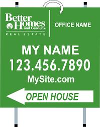 Better Homes & Garden Signs Banners Custom Design line