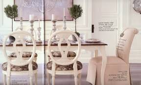 Attractive Ethan Allen Chairs With Decorative Round Wing Back Also Brown Top Table And Chandeliers