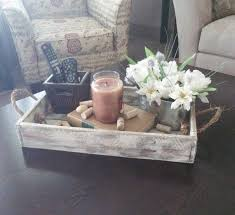 Wood Tray Rustic Serving By PureHomeWorks On Etsy