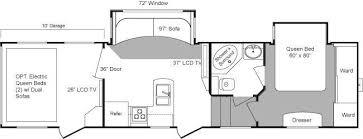 Raptor 5th Wheel Toy Hauler Floor Plans by 2010 Keystone Raptor 300mp Fifth Wheel Riceville Ia Gansen Auto